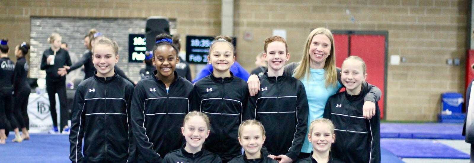 Women's J.O. Gymnastics Team